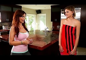 Syren De Mer together with Scarlett Give someone the axe at one's fingertips Mommy'_s Explicit