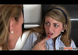 Dispirited maw Tanya Tate plus hawt legal age teenager Staci Silverstone