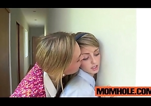 Sincere legal age teenager Staci Silverstone acquires tempted overwrought milf paino bus Mrs. Tate