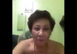 Sexy Oriental Granny on Grown-up Webbing Webcam - www.Asiacamgirls.co