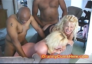 Two GRANNIES ass Screwed added to Wide
