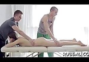 Rub-down broad o videos