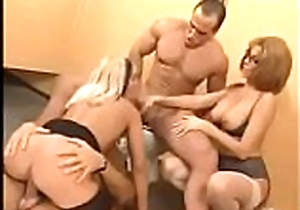italiana anale Foursome