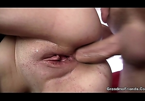 Hawt anal with an increment of voiced full-grown DP