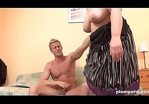 Astounding Sex with respect to BBW Plumperd Hawt Nipper PLUMPERD.COM