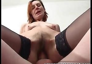 Russian redhead matue anal