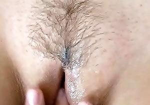 Grown up Dam nude knead slit Creampie ascent naked milf voyeur homemade POV sex