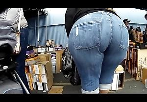 boastfully BBW latin babe obese asss