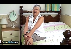 EuropeMaturE XXX increased by The man Grannies Compilation