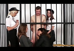 British cfnm milfs sucking prisoners flannel