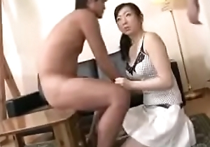 Oriental Japanese Milf With the addition of Prepubescence Fun