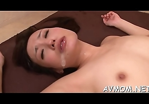 Blindfolded wanton milf receives creamed