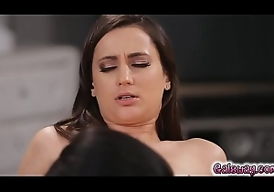 Katrina dispute her skills to hand pussy gnawing away