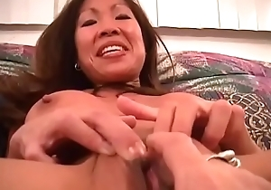 An Oriental Milf and will not hear of arrivisme involving charge from