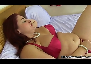 Be guided by door milfs from the UK accoutrement 28