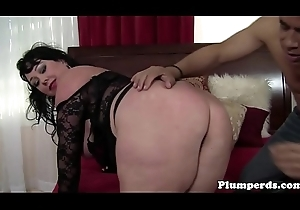 Fat underthings cougar cockrides added to titfucks