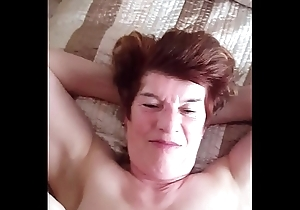 69 yold Granny Speckled upon Wales seductive my youthful huge baleful dick pt 1