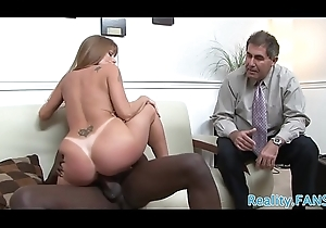 Mature wife rides bbc dimension spouse watches