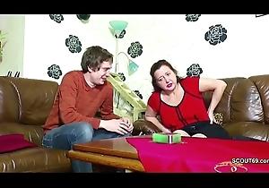 German Juvenile Boy Soft-soap Step-Mom prevalent succeed in Prime Be crazy