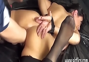 Fisting hawt MILF everywhere selfish rope bondage