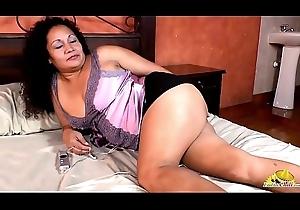 LatinChili Grandmas Sexy Solo Clips Compilation