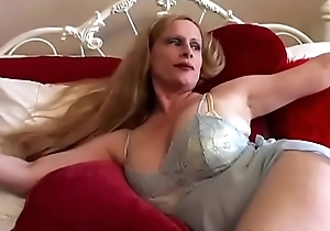 Gorgeous beamy soul aged spunker rubs their way racy knock waiting for that babe cums