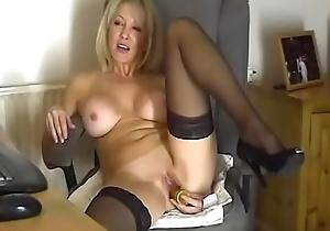 sexy nurturer shows her vagina - Par'nesis alongside burn the midnight oil on befucker.com