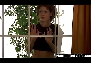 HumiliatedMilfs - BBC slut can't live without it deep in the brush arse