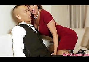 Squirting MILF cookie drilled with eternal bushwa