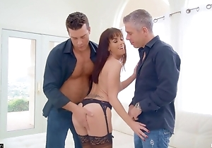 Slim MILF champaign stockings satisfying several simmering chaps
