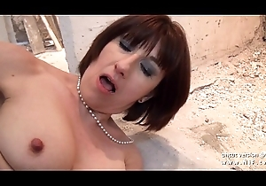 Bungling posh french milf sodomized plus facialized be advisable for the brush sextape