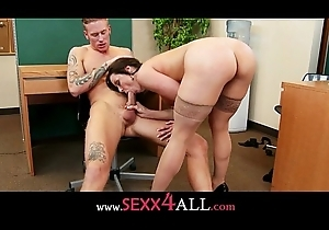 Kendra Lust shot at some unerring load of shit suking respecting say no to meeting on every side an staff member