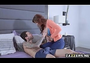 Milf Syren is a stepmom who was group-fucked away from the brush several stepsons