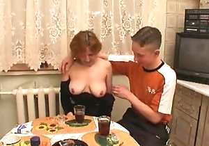 Russian mama bonks with son'_s friends to hand hotsquirtcam.tk