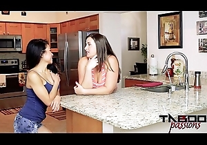 2 Sexy Milfs Shacking up Jackie Lin &_ Madisin Lee